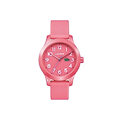 Lacoste - Kids pink strap watch