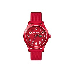 Lacoste - Kids red strap watch