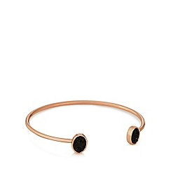 Pilgrim - Rose gold plated stone bracelet