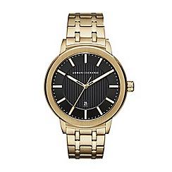 Armani Exchange - Men's gold watch