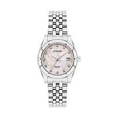 Citizen - Ladies sliver bracelet watch EU6050-59D