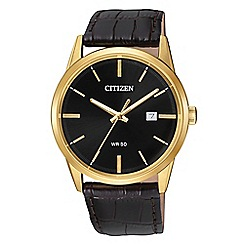 Citizen - Men's brown watch BI5002-06E