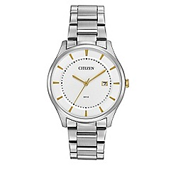 Citizen - Men's silver watch BD0041-54B