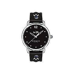 Coach - Ladies black 'Delancey' watch