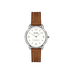 Coach - Ladies brown 'Delancey Slim' watch