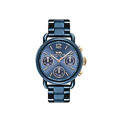 Coach - Ladies blue 'Delancey Sport' watch
