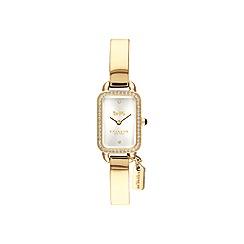 Coach - Ladies gold 'Ludlow' watch