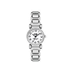 Coach - Ladies silver 'Madison' watch