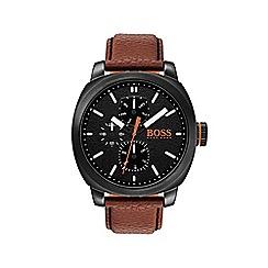 Boss Orange - Men's brown 'Cape Town' watch 1550028