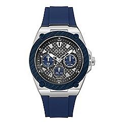 Guess - Men's blue watch W1049G1