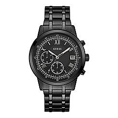 Guess - Men's black chronograph watch W1001G3