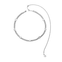 Guess - Silver 'Love Chain' necklace