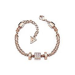 Guess - Rose gold 'Colors' bracelet