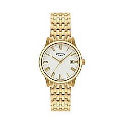 Rotary - Men's gold plated dress watch gb00794/32