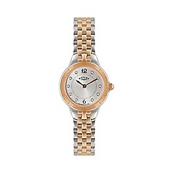 Rotary - Ladies two tone rose bracelet watch lb02762/59