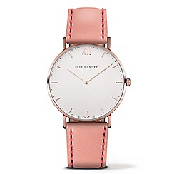 PAUL HEWITT - Ladies pink 'Sailor Line' analogue watch ph-sa-r-sm-w-24