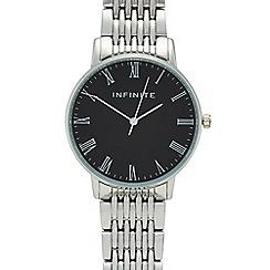 Infinite - Ladies silver analogue watch