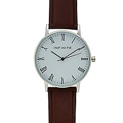 Infinite - Ladies' brown analogue watch