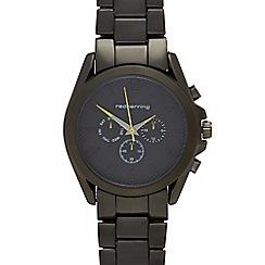 Red Herring - Ladies' dark grey analogue watch