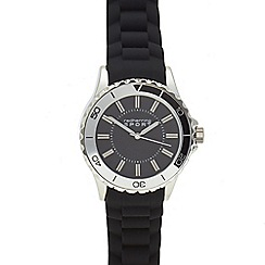 Red Herring - Mens' black analogue watch