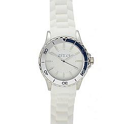 Red Herring - Mens' white analogue watch