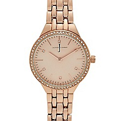 J by Jasper Conran - Ladies' rose gold analogue watch
