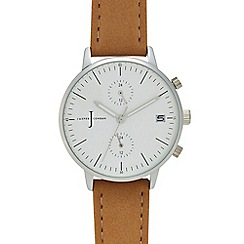 J by Jasper Conran - Ladies' natural chronograph watch