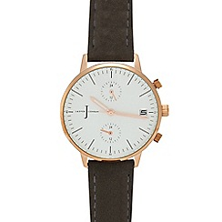J by Jasper Conran - Ladies' grey chronograph watch