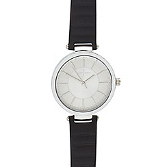 J by Jasper Conran - Ladies' black analogue watch