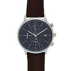 J by Jasper Conran - Ladies' brown chronograph watch