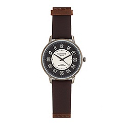 Hammond & Co. by Patrick Grant - Men's brown 'Arabic' leather strap watch 610102099