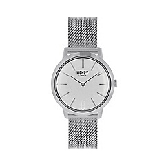 Henry London - Ladies silver 'Iconic' watch HL34-M-0231