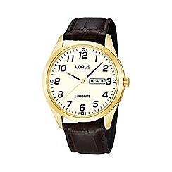 Lorus - Men's gold plated watch rj650ax9