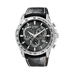 Citizen - Men's 'Eco-Drive' perpetual chrono A.T. watch AT4000-02E