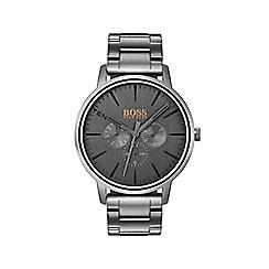 Boss Orange - Men's grey 'Copenhagen' bracelet watch