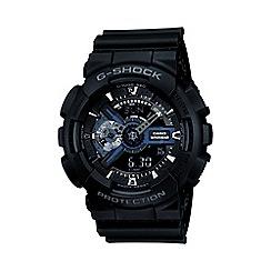 G-shock - Men's black movement digital watch ga-110-1ber