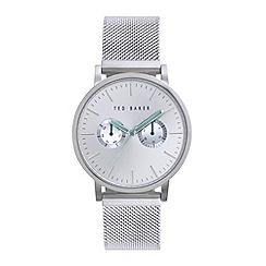 Ted Baker - Men's silver multi function bracelet watch te3037