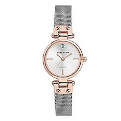 Anne Klein - Ladies silver 'Isabel' analogue bracelet watch AK/N3003SVRT