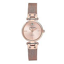 Anne Klein - Ladies rose gold 'Isabel' analogue bracelet watch AK/N3002RGRG