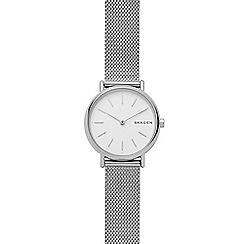 Skagen - Ladies silver 'Signature' bracelet watch