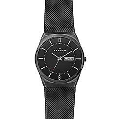 Skagen - Men's black bracelet watch