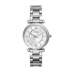 Fossil - Ladies silver bracelet watch