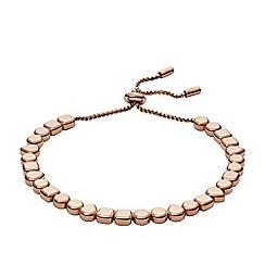 Fossil - Rose gold bracelet