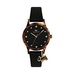 Radley - Ladies black analogue strap watch RY2640