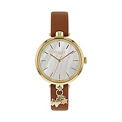 Radley - Ladies brown 'St.Dunstan's' analogue leather strap watch RY2652