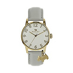 Radley - Ladies grey 'Liverpool Street' analogue leather strap watch RY2646