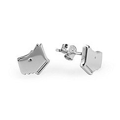 Radley - Silver 'Love Radley' stud earrings
