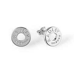 Radley - Silver 'Esher Street' stud earrings
