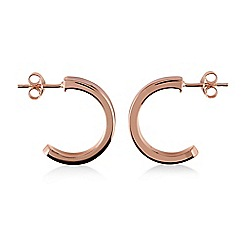 Radley - Rose gold 'Hatton Row' hoop earrings