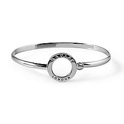 Radley - Sterling silver 'Esher Street' bangle bracelet